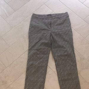 Slim ankle length pants